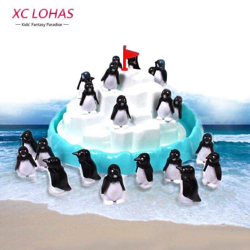 Penguin Iceberg Pile Up Toys Table Balance Game Children Interactive Desk Toys Penguin Iceberg Stacking Kids Educational Toys<br><br>Aliexpress
