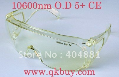 Co2 laser safety goggles with O.D 4+ CE certified<br>