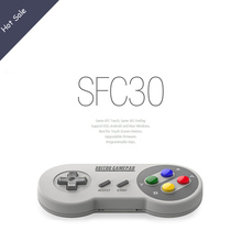 8Bitdo SFC30 Pro Finger Spinner Quality Wireless Bluetooth Controller Dual Classic Joystick for iOS Android Gamepad PC Mac Linux