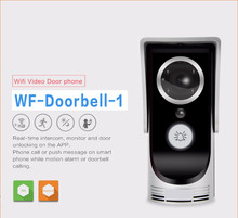 2.4GHz Wireless Video Door Phone Doorbell Intercom Home Security With Night Vision 720P Videoportero For Andriod IOS&PC Sliver