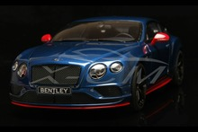 Resin Car Model GT Spirit Speed Bentley Continental (Blue & Orange) 1:18 + SMALL GIFT!!!