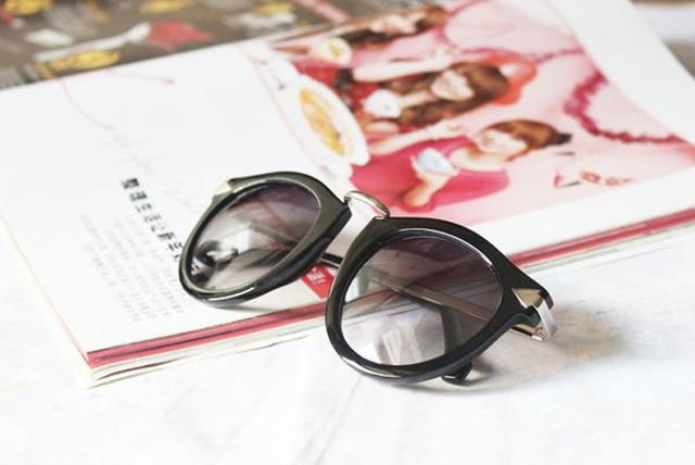 Vintage Trend Sunglasses For Women Men Round Retro Sun Glasses