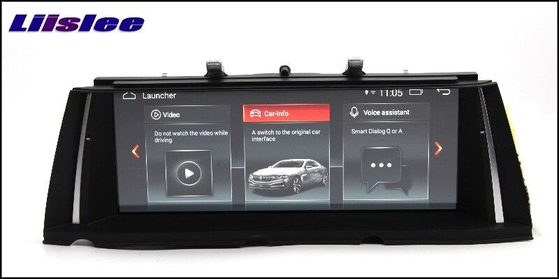 For BMW 7 F03 F04 F01 F02 NBT 2013~2015 LiisLee Multimedia GPS Audio Hi-Fi Radio Stereo Original Style For NBT Navigation NAVI 33