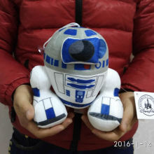 Free shipping 1pcs 20cm=7.9inch Star Wars Plush toys R2D2 Robot Plush Kids soft Toys for Children Gifts