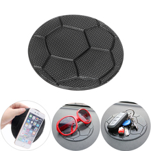 Non Slip Sticky Pad Car Dashboard Holder for Key Sunglasses Coin Football Auto Anti Slip Mat Silicone Mobile Phone Holder(China)
