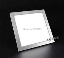24W led downlight Bright LED Kitchen Panel led Recessed Ceiling light lamp square/round AC85-265V(China)