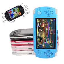New Coolbaby 8GB Portable Touch MP4 Video Game Console Handheld Game Players Free Games ebook Camera Gaming Consoles(China)