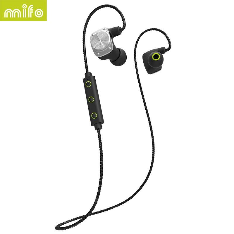 mifo U6 Newest Wireless Bluetooth Headphone Sport Headset Bluetooth Earphone Waterproof HiFi Stereo APT-X A2DP With mic<br>