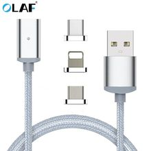 Buy iphone Type C Magnetic Cable Nylon Braided Micro USB Magnectic Cable Data Cable Magnet Fast Charging Cable letv le max for $4.99 in AliExpress store