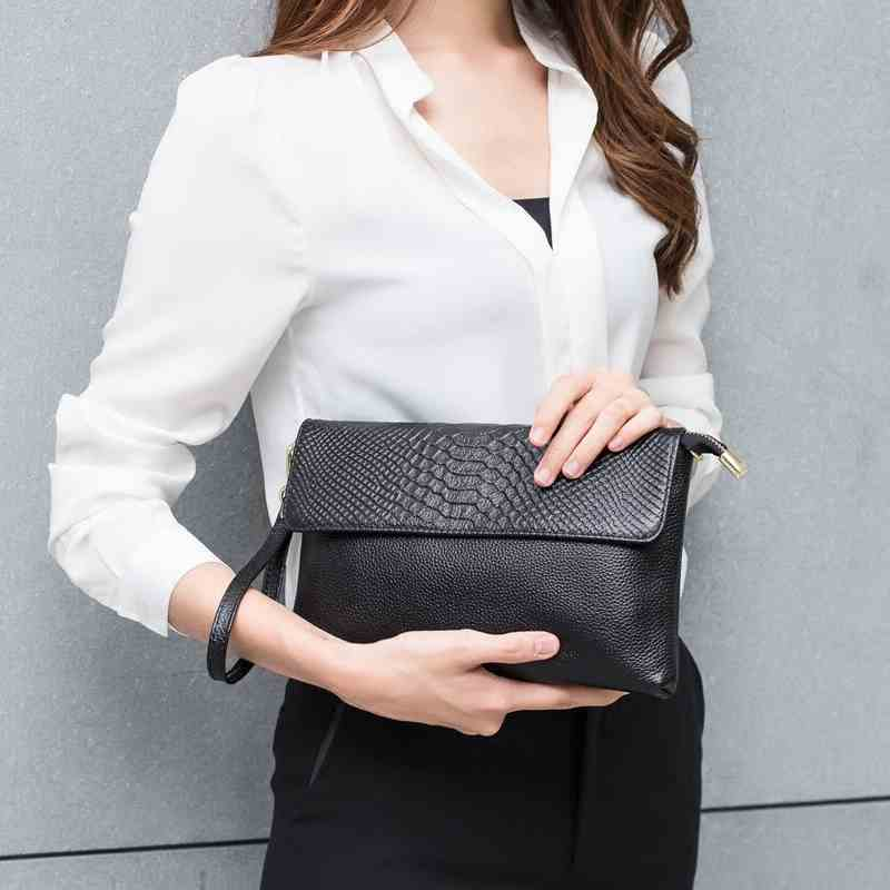 2017 New Fashion Leisure Bag Satchel female head layer cowhide Handbag Shoulder Bag Lady diagonal female bag<br>