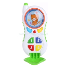 Baby Kids Mobile Cellphone Learning Study Music Sound Children Educational Toys #T026#(China)