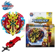 2018 Top Beyblade original Burst with launcher Starter Xeno Excalibur.M.I Starter Zillion Zeus I.W beyblade Toys for sale(China)