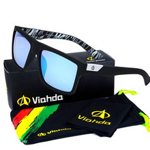Viahda 2016 New Brand Squared Sunglasses The DIRECTOR Glasses Men Sport Designer Mormaii Sunglass gafas de sol With Box