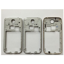 Original new Middle Plate Frame cover case  with volume Power button for Samsung Galaxy S4 i9500 i9505 i337 housing