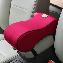 car styling Car Armrest Pad super Soft Universal Auto Armrests Covers Car Center Console Arm Rest Seat Box Pads Protective Case(China)
