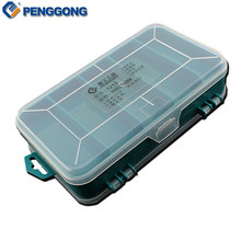 Transparent Tool Box Double-Side Plastic ToolBox Storage Tool Multifunction Tool case