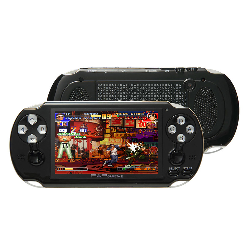 HTB1FRorcEgQMeJjy0Feq6xOEVXas - 4.3'' Video Game Console 64Bit Handheld Game Console Built-in 1300/650 games for GBA/CPS/NEOGEO/SNES/SMD/FC/GBC/SMS/GG mp5