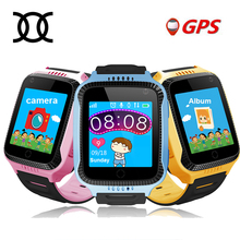 TWOX Q528 Y21 Touch Screen Kids GPS Watch with Camera Lighting smart watch phone Location SOS Call remote Monitorpk Q50 Q90 Q100(China)