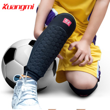 Kuangmi 1 Piece Kids Knee Pad Knee Support Protector Children Calf Splint Sleeve Shin Guard Sports Basketball Football Cycling(China)