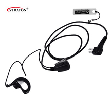 2 PIN PTT MIC Earpiece Headset for Motorola GP2000 GP2100 GP300 GP308 GP68 GP88 PRO1150 PRO2150 Walkie Talkie C1022A Heaset M