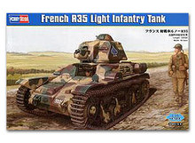 Hobby Boss 1/35 scale tank models 83806 French Renault R35 Light Infantry Tank(China)
