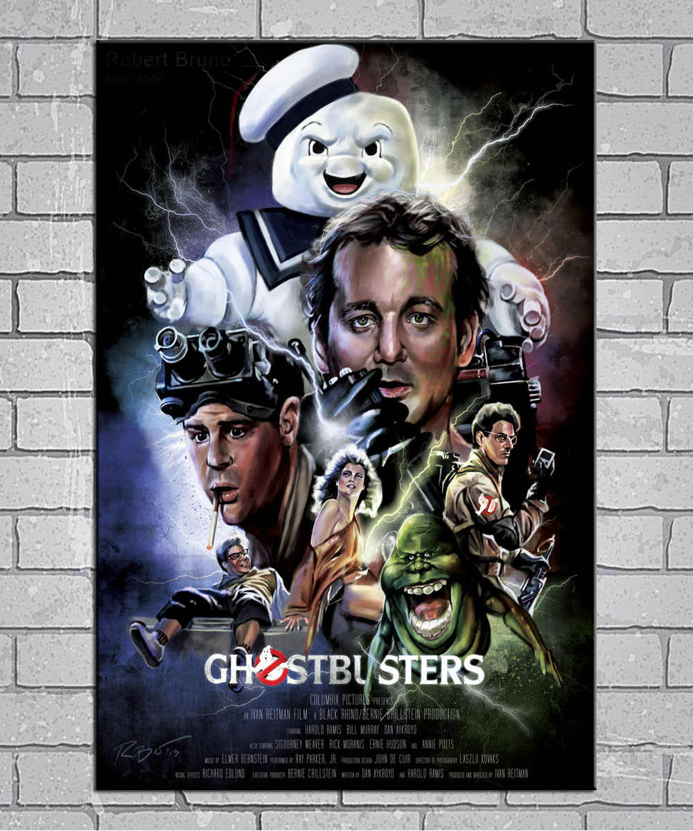 Detail Feedback Questions About Ghostbusters 1984 Movie Light Canvas