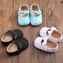 2016 New Fashon Toddler Girl Shoes Embroidered Heart White Baby Shoes Calzado Ninas Scarpe Bambina In Girl Infant Walker 0-18M