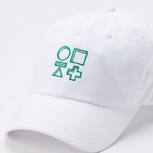 New Hiphop Kpop bangtan boys bts jimin suga official white same style Unisex embroidery baseball cap