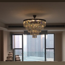 Vintage Clarissa LED crystal chandeliers lamp for dining room french empire style Restoration Hardware lighting Home lighting