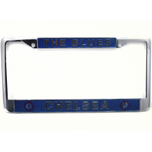 2017 hot zinc alloy car license plate frame for American plate club logo for Chelsea Automobile general license plate frame(China)