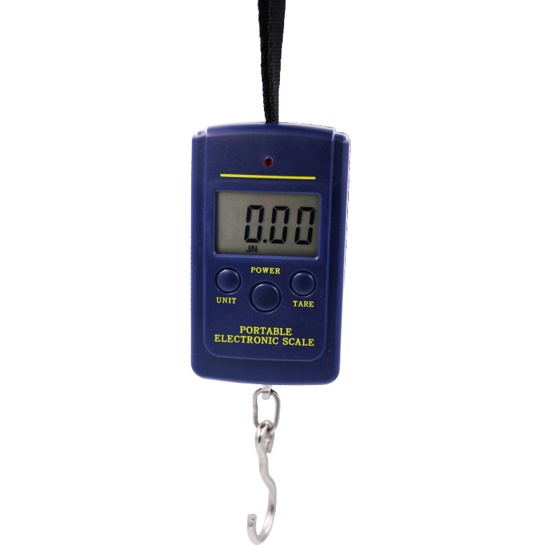 100pcs by dhl fedex 40kg x 10g Portable Mini Electronic Digital Scale Hanging Fishing Hook Pocket Weighing  Scale 30%Off 3