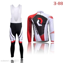 2016 Bike Maillot ciclismo Long cycling jerseys Cycle sports Wears mtb ropa ciclismo Bicycle Clothing And Bib Pants(China)