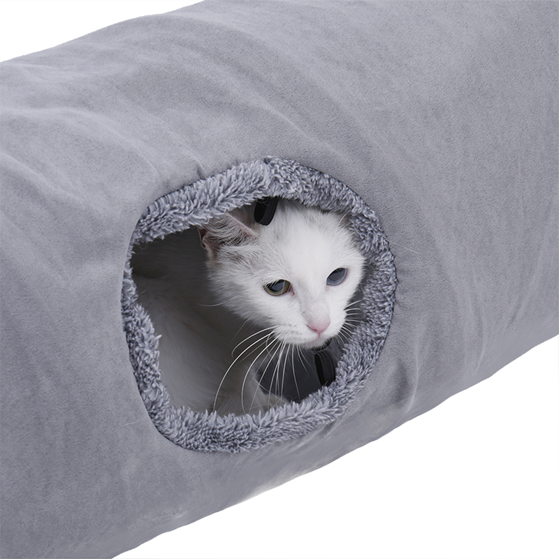big cat tunnel Big Long Cat Tunnel with Play Ball Suede Material-Free Shipping HTB1FSAPmamgSKJjSsplq6yICpXaC