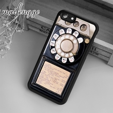 maifengge Retro Vintage Payphone Case For iPhone 6 6S 7 8 Plus X 5 5S SE Case cover for Samsung S5 S6 S7 edge S8 Plus shell(China)