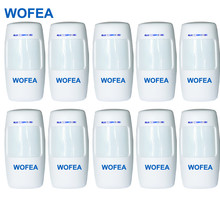 WOFEA 10 piece Wireless PIR sensor Wireless Motion detector sensor for alarm system high quality free shipping(China)