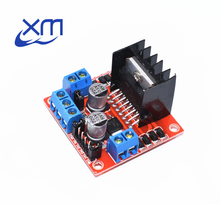 Special promotions 10pcs/lot L298N motor driver board module stepper motor smart car robot(China)