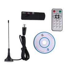 Buy Mini Digital USB TV Stick FM+DAB DVB-T RTL2832U+R820T Support SDR Tuner Receiver drop for $11.62 in AliExpress store