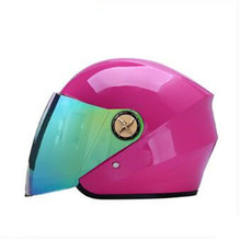 Pink full face helmet motorcycle helmet mens womens helmet ABS high quality racing DOT approved helmet(China)