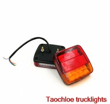 1pair 12V 20leds truck Trailer stop lamp Lorry Bus BRAKE Lamp REAR light TAIL light REVERSE LIGHT TURN INDICATOR external light
