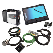 Super MB SD C5 SSD Wifi MB Star C5 with laptop x200t touch screen diagnosis PC with car diagnostic software 2017.09 for MB SD C5(China)