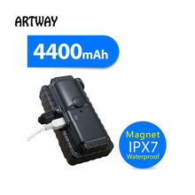 mini locator magnet car gps tracker with satellite positioning tracker 4400battery long standby