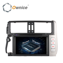 Ownice C500 Android 6.0 Octa 8 Core 32GB ROM Car DVD player GPS for Toyota Prado 150 Land Cruiser Radio wifi support 4G DAB+