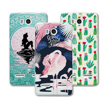 For Huawei U9508 Case Cover Mermaid Painting Hard Plastic Case For Huawei Honor 2 G600 U9508 U8950 Case Cover For Huawei U 8950