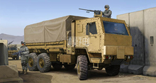 The United States military assembly model of armored army 1:35 M1083 tactical armored truck cab 01008