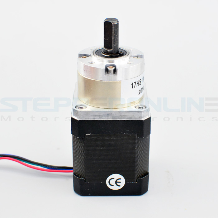 5:1 Planetary Gearbox High Torque Nema 17 Geared Stepper Motor 1.68A DIY CNC 3D Printer<br><br>Aliexpress