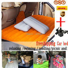 fast shipping  inflatable car bed +Air Pump rapid car seat cushion car pillow for All cars  for sexy sleep
