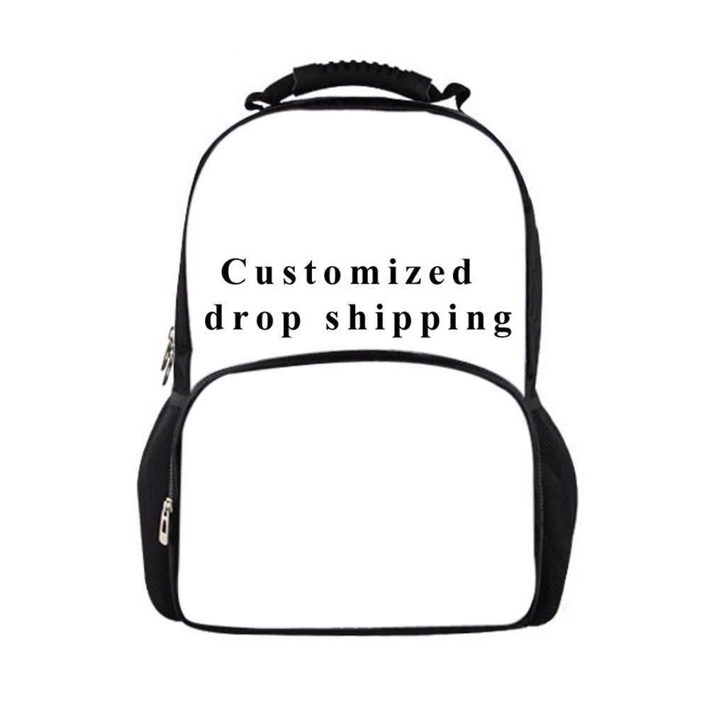 FORUDESIGNS Customized Backpacks for Teenagers Cartoon Prints Boys Girls Causal Backpacks Women Men Daypack Mochilas Rucksack<br>
