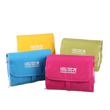 Travel Cosmetic Bag  Canvas Multi-Function Makeup Storage Bag Organizer Case Good Quality