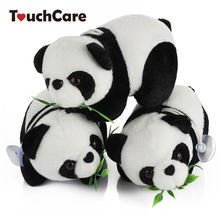 16CM Cute Cartoon Panda With Bamboo Baby Plush Toys Infant Soft Stuffed Animal Key Chain Plush Doll Toys Kids Gift Toy