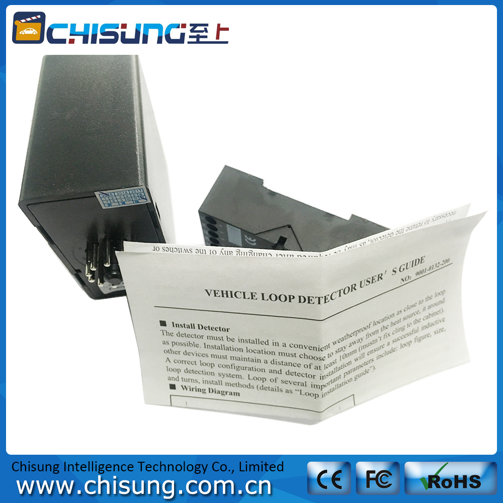 Gate vehicle access control Double Channel induction Loop Detector For Car Parking System<br>